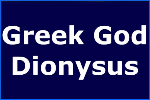 greekgoddionysus